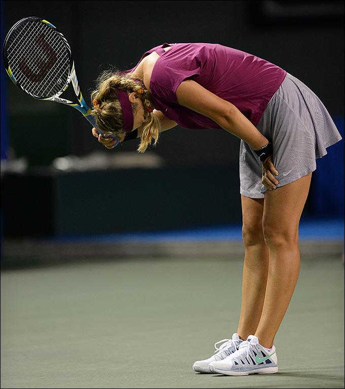 Виктория Азаренко проиграла на старте Токио
