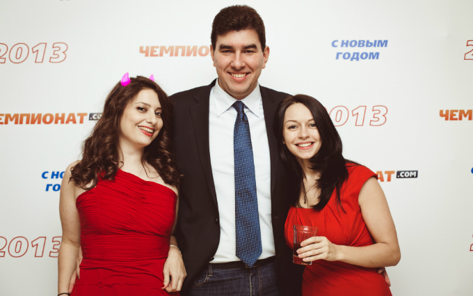 Лев Савари с Натальей Заславской и Екатериной Сидорчук