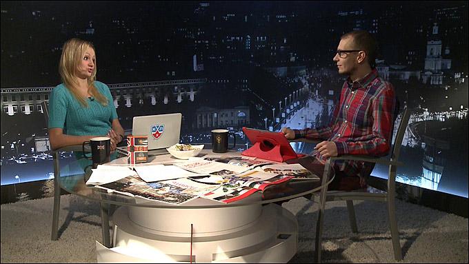 """Мария Роговская в гостях у """"Трибуны"""" Романа Чернявского"""