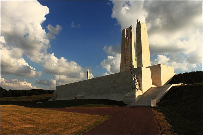 Канадский национальный мемориал в Вими, Франция