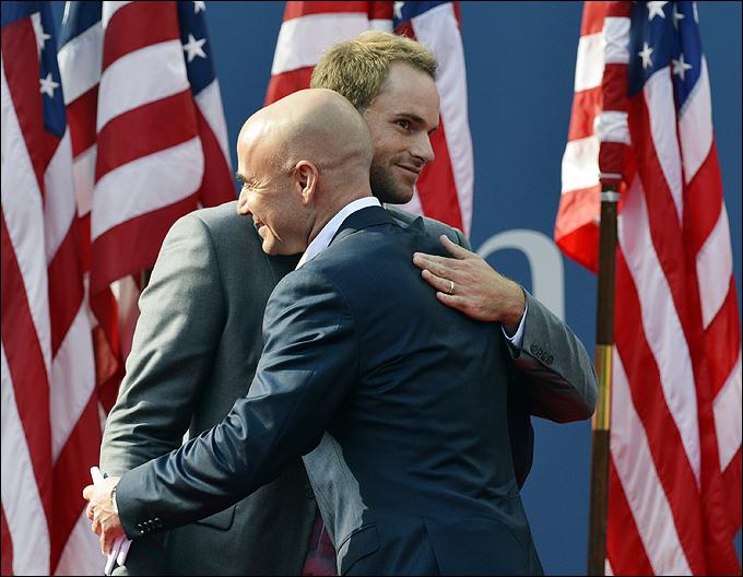 Энди Роддик провёл свой последний матч в карьере на US Open-2012