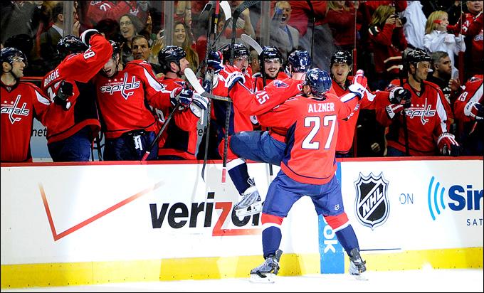 """2 мая 2013 года. Вашингтон. Плей-офф НХЛ. 1/8 финала. Матч № 1. """"Вашингтон"""" — """"Рейнджерс"""". С Днем рождения, Джейсок Чимера!"""