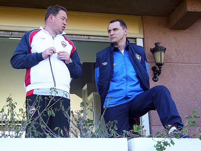 Андрей Кобелев и Леонид Слуцкий