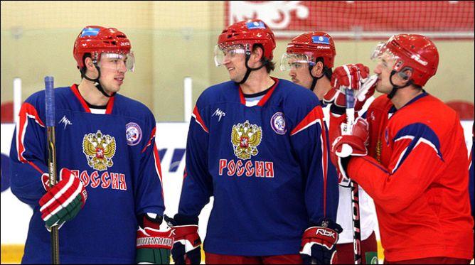 5 апреля 2011 года. Новогорск. Тренировка сборной России.