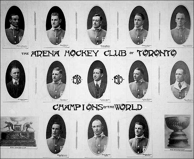 """История Кубка Стэнли. Часть 26. 1917-1918. """"Торонто Аренас""""."""