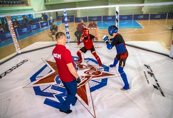 Открытый Всероссийский кубок по спортивному миксфайту