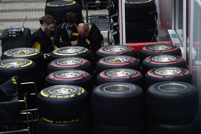 Покрышки для Формулы-1
