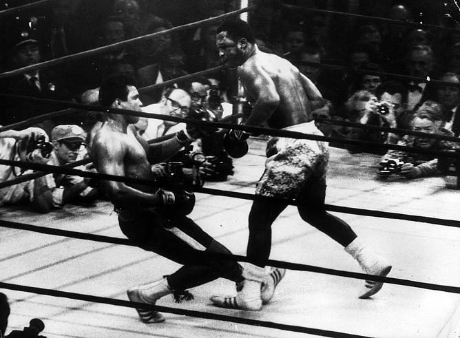 8 марта 1971 года. Фрейзер нанёс первое поражение Али.