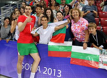 Георги Братоев пользуется заслуженной любовью поклонников сборной Болгарии