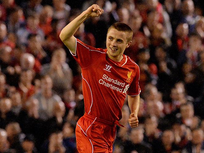 Юный полузащитник «Ливерпуля» Джордан Росситер вошел в историю, забив за основную команду в возрасте 17 лет и 183 дней