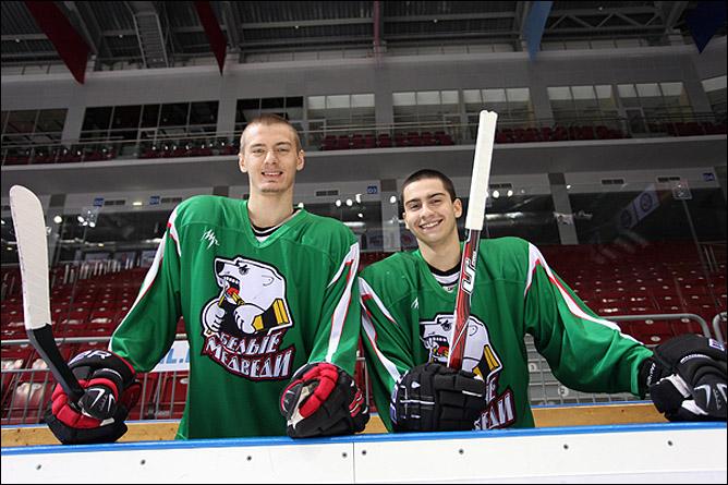 Алексей Филиппов со своим другом и коллегой Станиславом Петровым