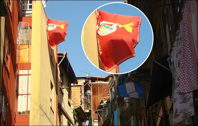 """Флажок """"Бенфики"""" в Порту – это похлеще, чем прийти в шарфике """"Зенита"""" в """"Лужники"""""""