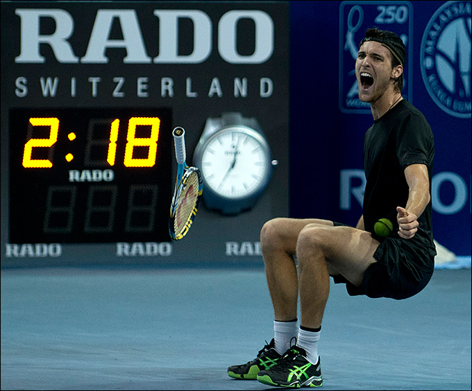 Жуан Соуза принёс Португалии первый трофей ATP