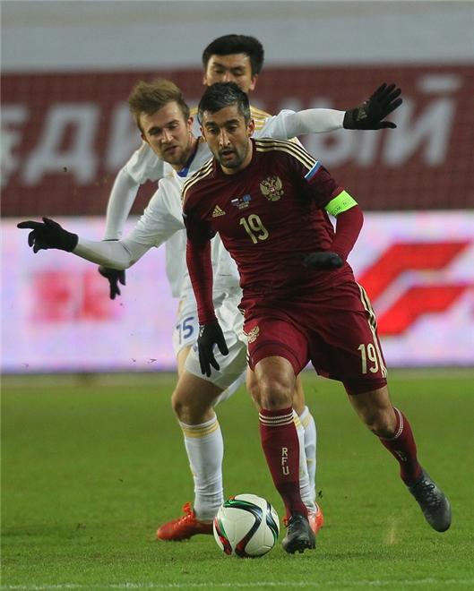 Александр Самедов в сборной России