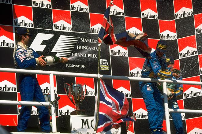 Первый подиум — Гран-при Венгрии 1994 года