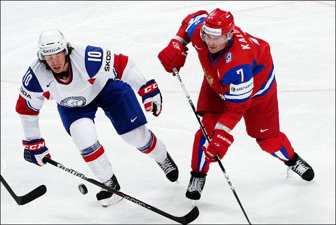 Дмитрий Калинин против сборной Норвегии