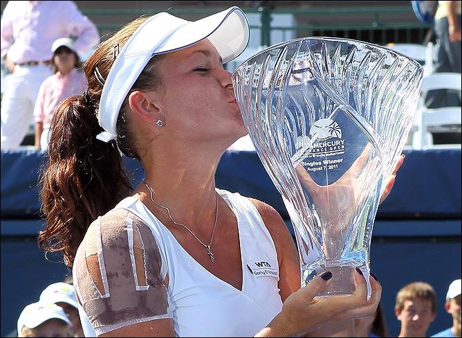 Агнешка завоевала титул в Карлсбаде