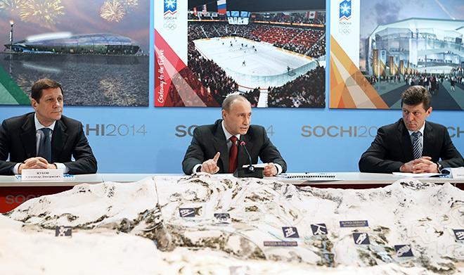 Александр Жуков, Владимир Путин и Дмитрий Козак