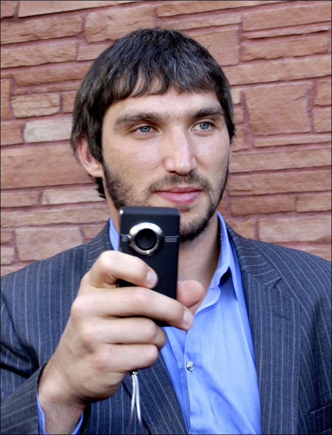 Александр Овечкин. Харламов-трофи. Фото 02.
