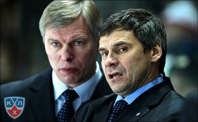 Дмитрий Квартальнов (справа) и Александр Смирнов