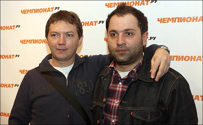 Георгий Черданцев и Таш Саркисян