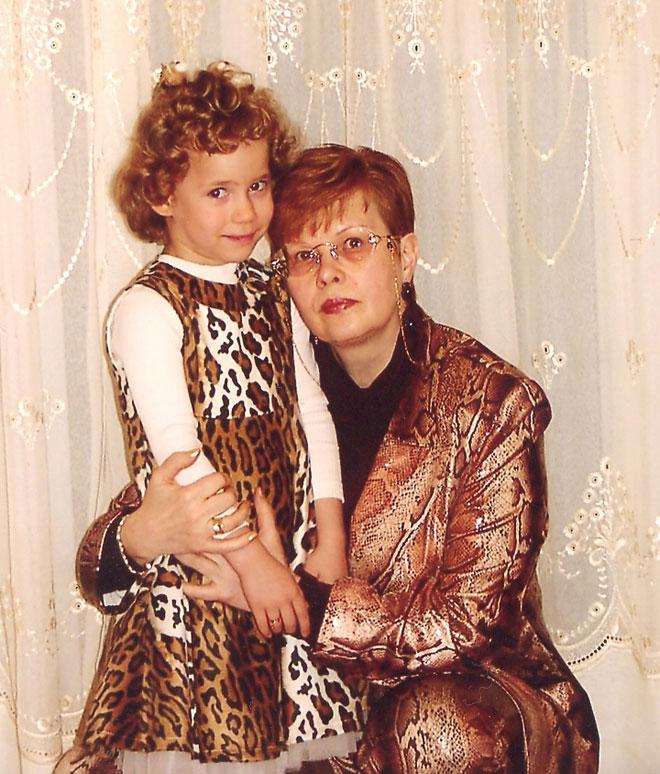 Наташа и мама Галина Белова