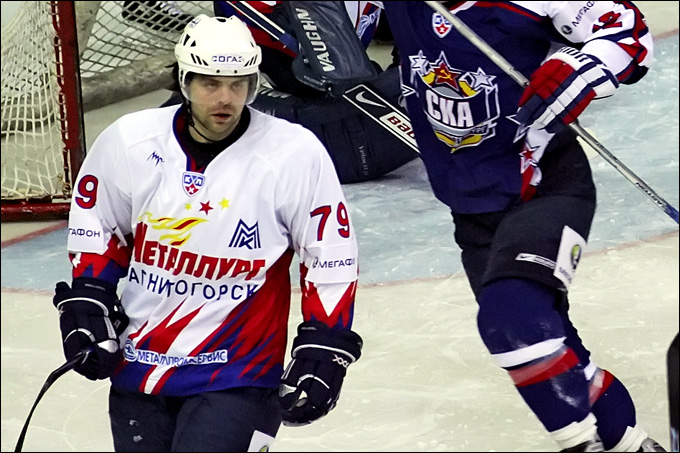 """Евгений Фёдоров в """"Магнитке"""". 2009 год"""