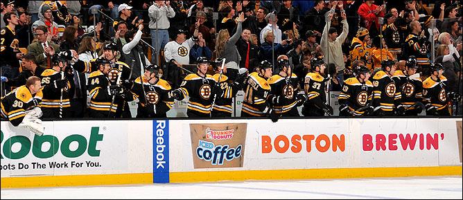 """7 ноября 2011 года. Бостон. Регулярный чемпионат КХЛ. """"Бостон Брюинз"""" — """"Нью-Йорк Айлендерс"""" — 6:2"""
