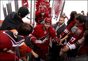 """Как дела, НХЛ? """"Финикс Койотс"""". Мартин Ганзал"""