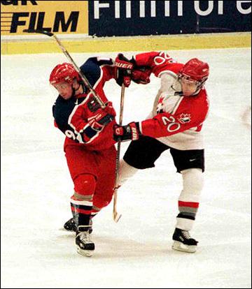 Евгений Фёдоров в сборной России. 2000 год