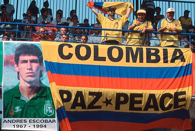 В Колумбии не забыли Андреса Эскобара