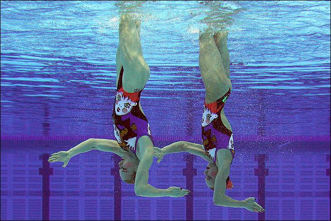Синхронное плавание. Чемпионат Европы. Эйндховен, Нидерланды