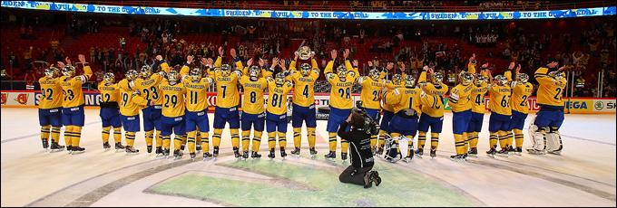 Сборная Швеции — действующий чемпионы мира