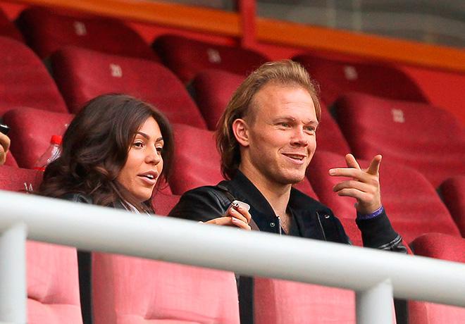 Виталий Денисов с супругой