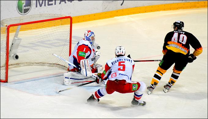 Евгений Кетов и его решающий гол в серии