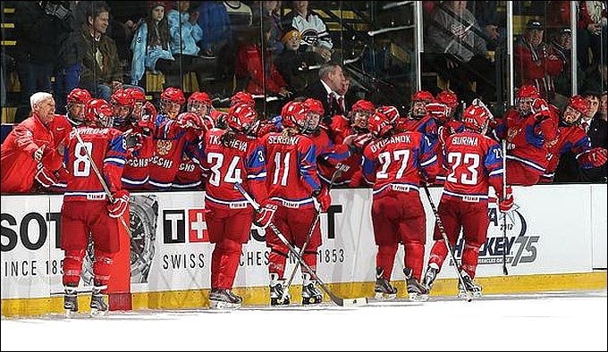 Женская сборная России по хоккею