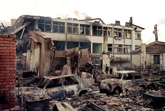 """""""Я побежал к окну и увидел, как разрастается гриб от взрыва. Тогда НАТО уничтожил Генштаб"""""""