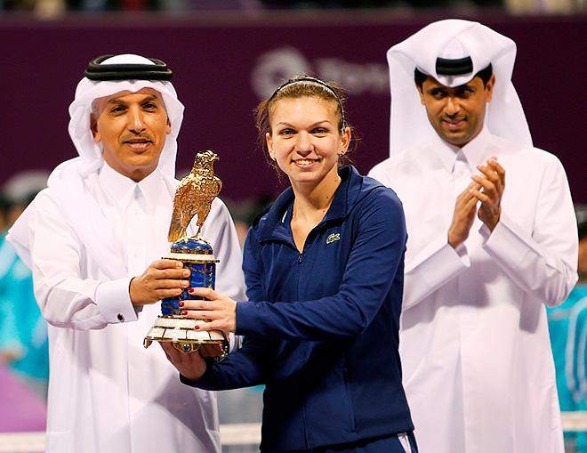 Симона Халеп — чемпионка Дохи-2014