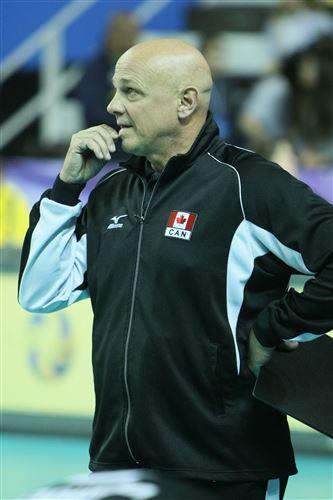 Главный тренер сборной Канады Гленн Хоаг