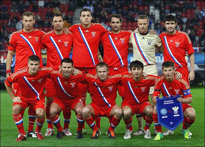 Футбол. Товарищеский матч. Россия — Уругвай