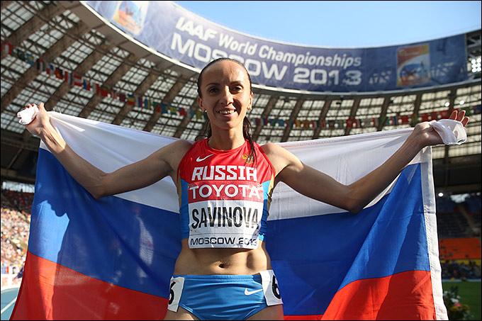 Мария Савинова взяла только серебро