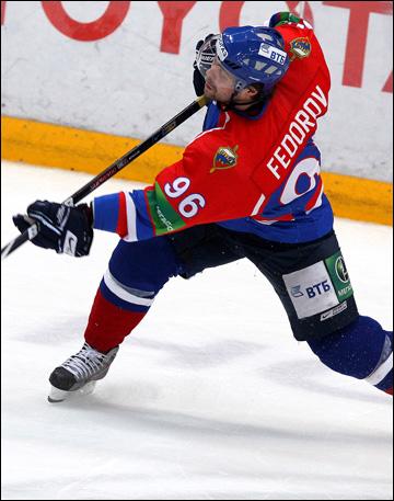 Евгений Фёдоров в ХК МВД. 2010 год