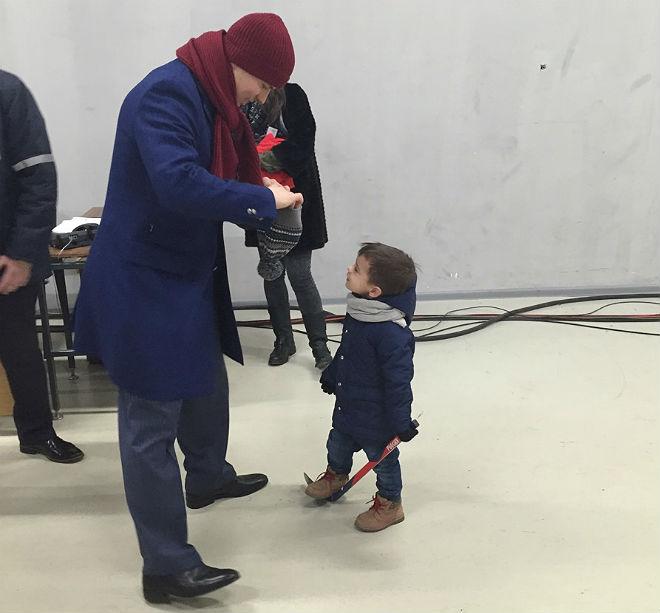Сергей Широков с сыном
