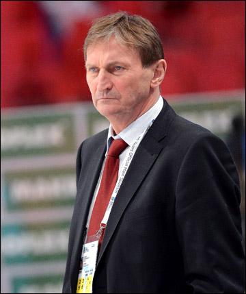Главный тренер сборной Чехии Алоис Гадамчик