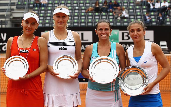 Елена и Екатерина во второй раз за две недели стали финалистками