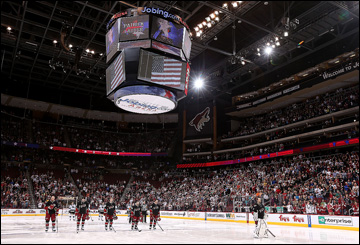 "Как дела, НХЛ? ""Финикс Койотс"". Jobing.com арена"