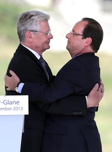 Франсуа Олланд и Йоахим Гаук
