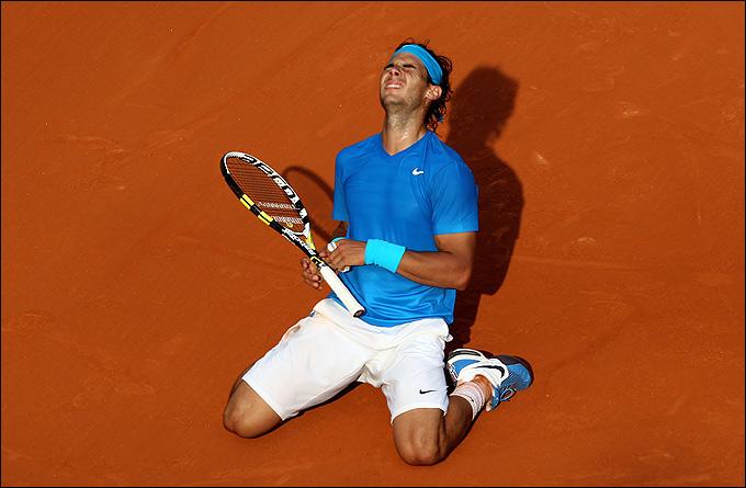 "Теннис. ""Ролан Гаррос"". Париж, Франция"