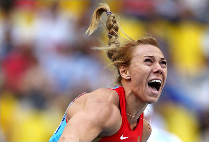 Мария Абакумова завоевала бронзовую медаль в метании копья