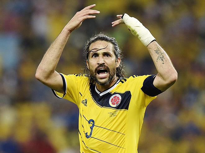 Капитан сборной Колумбии Марио Йепес остался без клуба